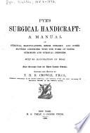 Pye's Surgical Handicraft