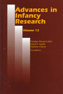 Advances in Infancy Research Book