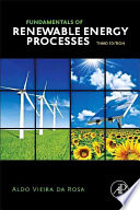 Fundamentals of Renewable Energy Processes Book