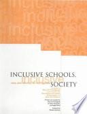 Inclusive Schools  Inclusive Society Book PDF