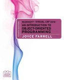 Microsoft Visual C 2010 An Introduction To Object Oriented Programming