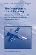 The Contemporary Law of Targeting