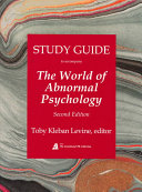The World of Abnormal Psychology