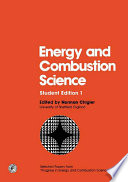 Energy and Combustion Science Book