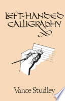 Left handed Calligraphy