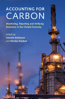 Accounting for Carbon