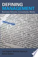 Defining Management Book