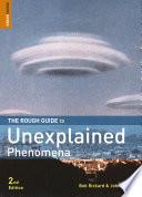 The Rough Guide To Unexplained Phenomena Book PDF