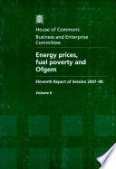 Energy Prices Fuel Poverty And Ofgem