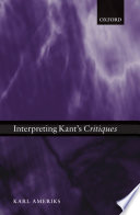 Cover image of Interpreting Kant's Critiques