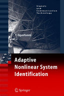 Adaptive Nonlinear System Identification Book