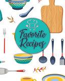 Favorite Recipes Book PDF