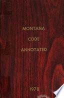 Montana Code Annotated