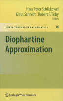 Diophantine Approximation [Pdf/ePub] eBook
