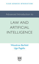 Advanced Introduction to Law and Artificial Intelligence