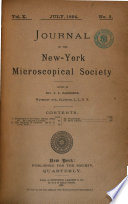 Journal Of The New York Microscopical Society