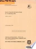 Seismic Hazards Estimation Study for Vandenberg AFB