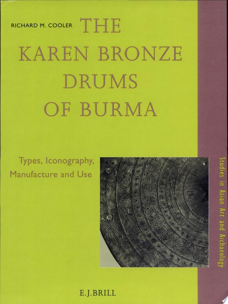 The Karen Bronze Drums of Burma banner backdrop