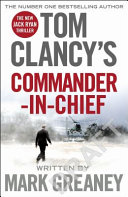 Tom Clancy s Commander In Chief Book