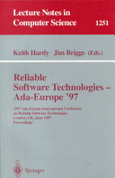Reliable Software Technologies   Ada Europe  97