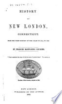 History Of New London Connecticut