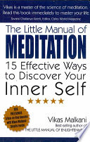 The Little Manual of Meditation Book