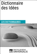 Dictionnaire des Idées ebook