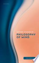 Oxford Studies in Philosophy of Mind Volume 1