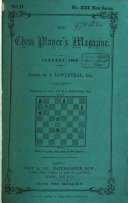The Chess Player's Magazine