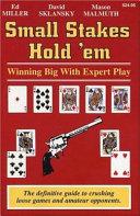 Small Stakes Hold 'em Pdf/ePub eBook