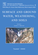 Pdf Surface and Ground Water, Weathering, and Soils