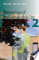 Dimensions Of The Sustainable City Book PDF
