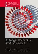 Routledge Handbook of Sport Governance
