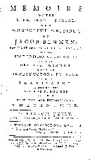 Memoirs of the life, death, burial, and wonderful writings, of Jacob Behman