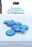 Business Management for Entrepreneurs