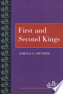 Read Online First and Second Kings For Free