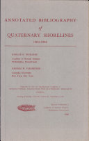 Annotated Bibliography of Quaternary Shorelines (1945-1964)