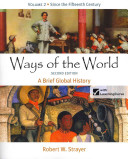 Ways Of The World A Brief Global History Book PDF