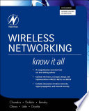 Wireless Networking  Know It All Book