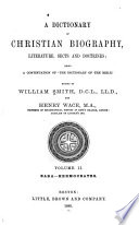 A Dictionary of Christian Biography  Literature  Sects and Doctrines  Eaba Hermocrates