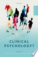 What is Clinical Psychology  Book