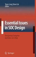 Essential Issues in SOC Design Pdf/ePub eBook