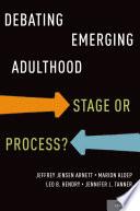 Debating Emerging Adulthood Book PDF