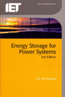 Energy Storage for Power Systems  2nd Edition