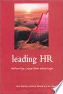 Leading Hr Book PDF