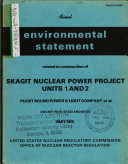 Skagit Nuclear Power Project Units 1 2  Construction
