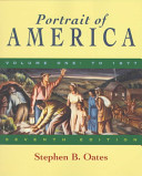 Portrait of America  From before Columbus to the end of Reconstruction