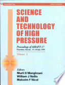 Science and Technology of High Pressure