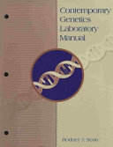 Contemporary Genetics Laboratory Manual