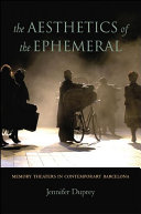 Pdf The Aesthetics of the Ephemeral